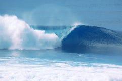 Quebra da onda Foto de Stock
