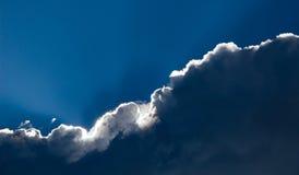 Quebra da tempestade Foto de Stock Royalty Free