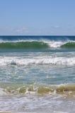 Quebra das ondas Fotografia de Stock