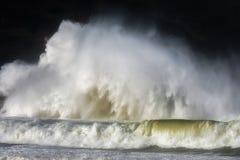 Quebra grande bonita das ondas Foto de Stock