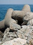 Quebra-mar Imagens de Stock Royalty Free