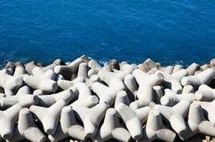 Quebra-mar Fotografia de Stock