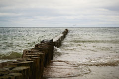 Quebra-mar Foto de Stock Royalty Free