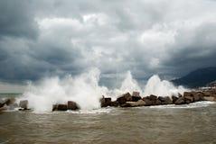 Quebra-mar Imagem de Stock