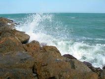 Quebra-mar Imagem de Stock Royalty Free