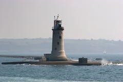 Quebra-mar de Plymouth Foto de Stock Royalty Free