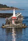 Quebra-mar do ponto de Ogden Fotografia de Stock