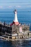 Quebra-mar do ponto de Ogden Imagem de Stock