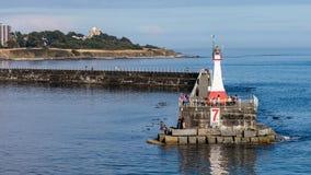 Quebra-mar do ponto de Ogden Fotos de Stock Royalty Free