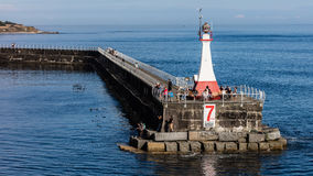 Quebra-mar do ponto de Ogden Foto de Stock