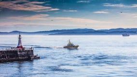 Quebra-mar do ponto de Ogden Foto de Stock Royalty Free