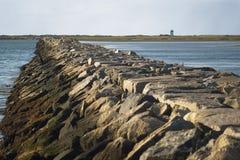 Quebra-mar em Provincetown Fotografia de Stock Royalty Free