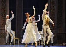 Quebra-nozes do bailado da dança- dos aristocratas imagens de stock royalty free