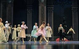 A quebra-nozes do bailado do banquete- da família imagens de stock royalty free