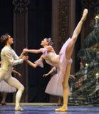 A quebra-nozes do príncipe e do bailado do Clara-quadro 3-The fotografia de stock
