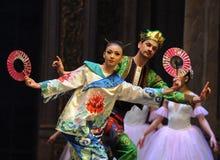 Quebra-nozes oriental misteriosa do bailado do anjo- foto de stock royalty free