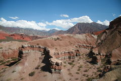 Quebrada de Cafayate Royalty Free Stock Photo