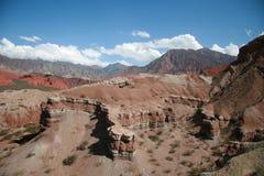 Quebrada de Cafayate Foto de Stock Royalty Free