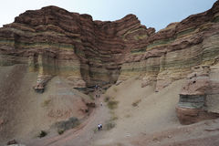 Quebrada de Cafayate National park at  Calchaquies Stock Image