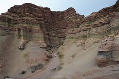 Quebrada de Cafayate National park at  Calchaquies. Valley on argntina andes Stock Image