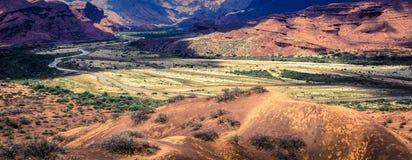 Quebrada de Cafayate, provincia di Salta, Argentina fotografia stock libera da diritti
