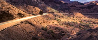 Quebrada de Cafayate, Salta landskap, Argentina arkivbild