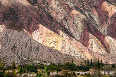 Quebrada de Humahuaca, Άνδεις Στοκ φωτογραφία με δικαίωμα ελεύθερης χρήσης