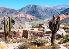 Quebrada de Humahuaca, Аргентина Стоковое фото RF