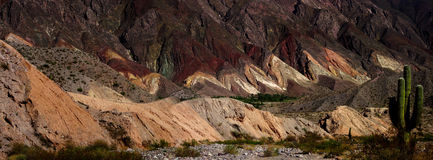 Quebrada de Humahuaca Стоковое Изображение