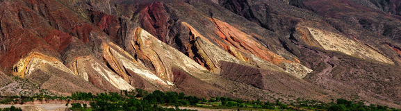 Quebrada de Humahuaca Royalty Free Stock Photography