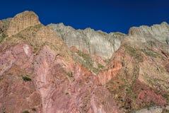 Quebrada de Humahuaca Royalty Free Stock Photos