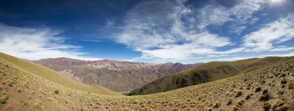 Quebrada de Humahuaca, Northern Argentina Royalty Free Stock Photo