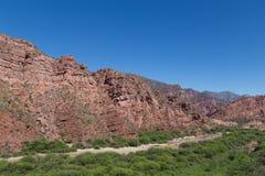 Quebrada de Las Conchas, Nordwest-Argentinien stockfoto