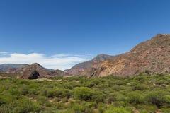 Quebrada de las Conchas, Northwest Argentina Royalty Free Stock Image