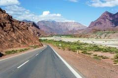 Quebrada de las Conchas, Salta, Argentina del Nord fotografie stock