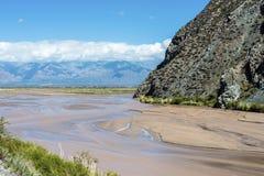 Quebrada DE las Conchas, Salta, noordelijk Argentinië Royalty-vrije Stock Foto
