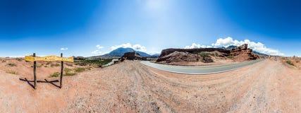 Quebrada de las Conchas, Salta, northern Argentina Stock Images