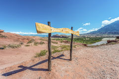 Quebrada de las Conchas, Salta, northern Argentina Royalty Free Stock Images