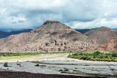Quebrada de las Conchas, Salta, northern Argentina Royalty Free Stock Image