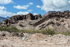 Quebrada de las Conchas, Salta, northern Argentina Royalty Free Stock Photography