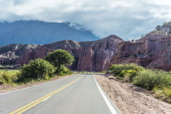 Quebrada de las Conchas, Salta, northern Argentina Royalty Free Stock Photos