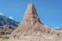 Quebrada de las Conchas, Salta, northern Argentina Stock Photography