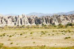 Quebrada de las Flechas -萨尔塔-阿根廷 免版税图库摄影