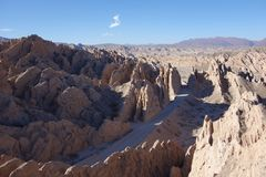 Quebrada de las flechas / arrows ravine - RN40 , cafayate, argentina stock photo