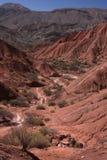 Quebrada perto de Tupiza Imagem de Stock