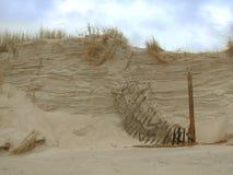 Quebrando a duna Foto de Stock