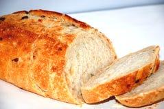 Quebrando o pão Imagem de Stock Royalty Free
