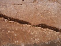 Quebras de superfície Foto de Stock