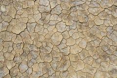 Quebras do solo secado Foto de Stock Royalty Free