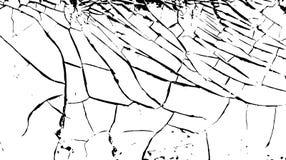 Quebras na superfície da pintura velha branca Fundo rachado Ilustração do vetor ilustração do vetor